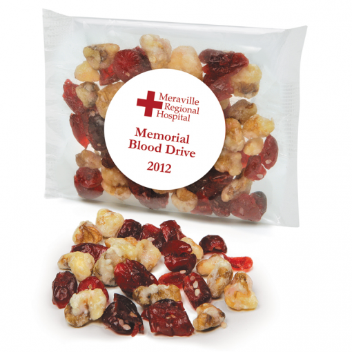 Custom Labeled Cranberry Walnut Trail Mix