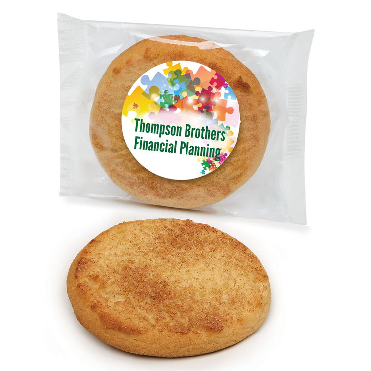 Custom Labeled Snickerdoodle