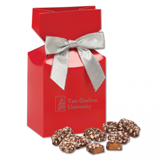 English Butter Toffee in Red Gift Box