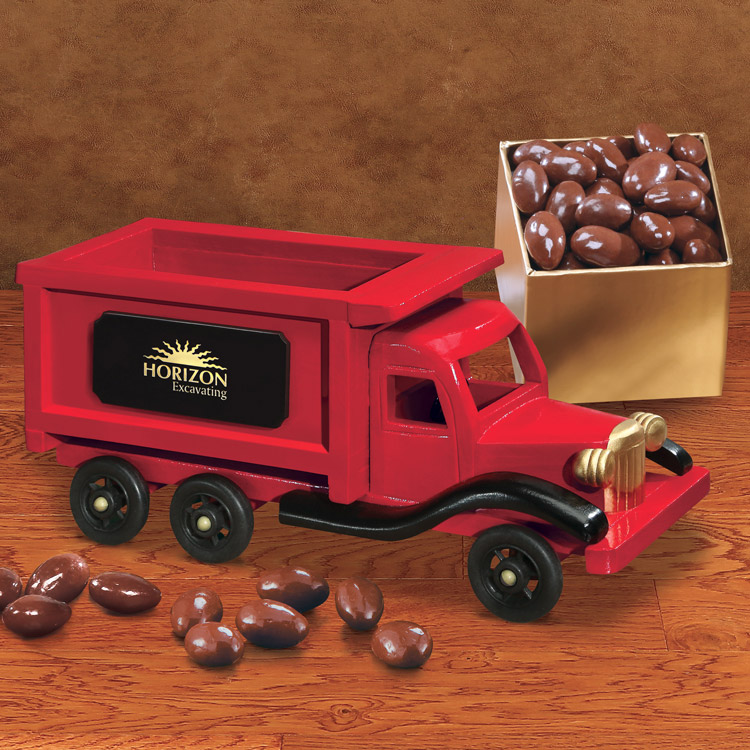 Maple Ridge Dump >> 1950-Era Dump Truck with Chocolate Covered Almonds | MapleRidge Gifts
