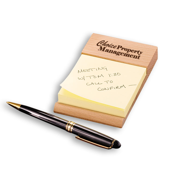 Beech Post-it® Note Holder