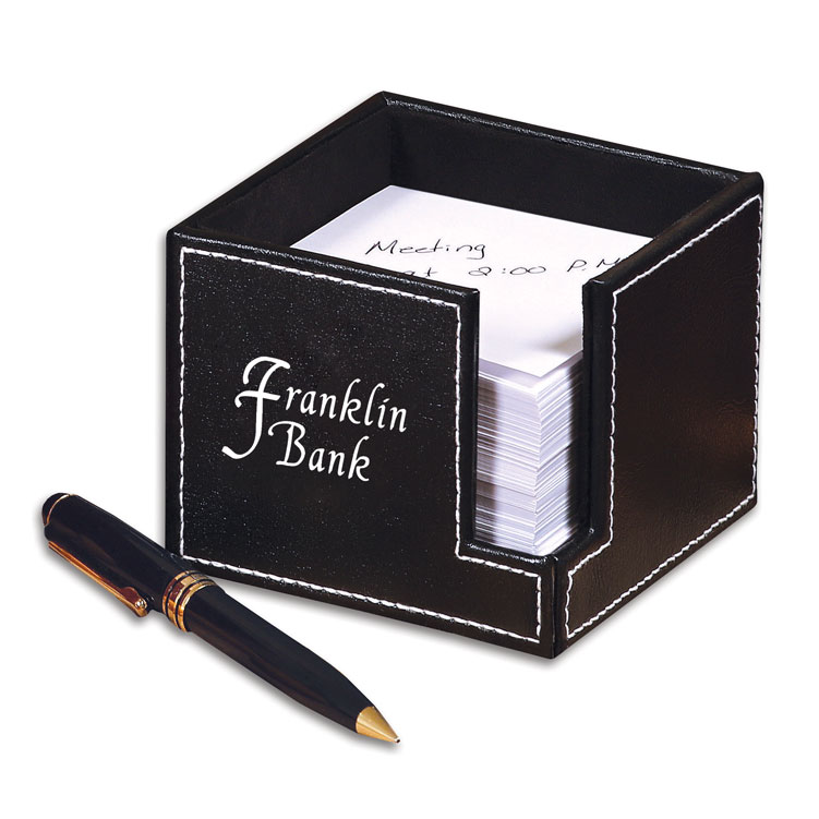 Faux Leather Note Holder | MapleRidge Gifts