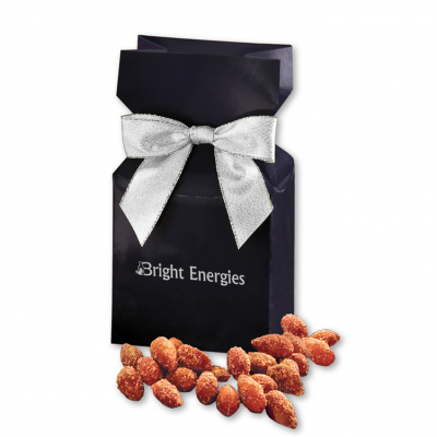 BBQ Smoked Almonds in Navy Gift Box
