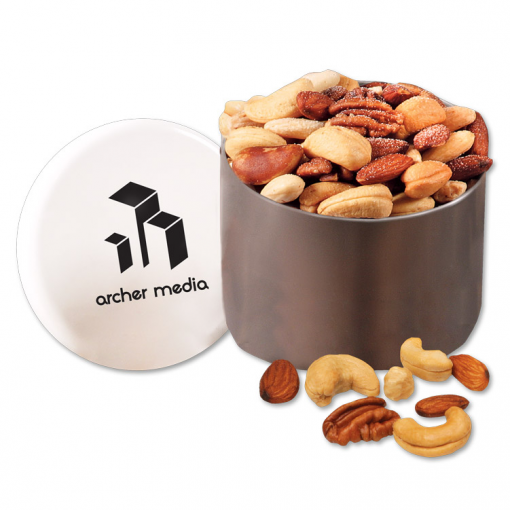 Deluxe Mixed Nuts in Designer Tin