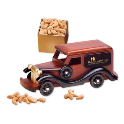 1930-Era Delivery Van with Extra Fancy Jumbo Cashews