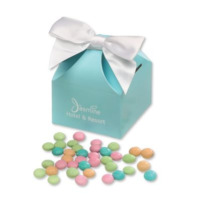 Chocolate Gourmet Mints in Robin's Egg Blue Classic Treats Gift Box