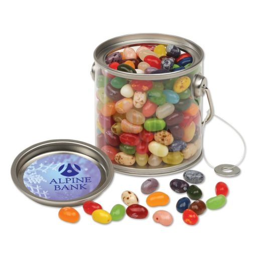 Clear Miniature Paint Buckets with Jelly Belly® Jelly Beans