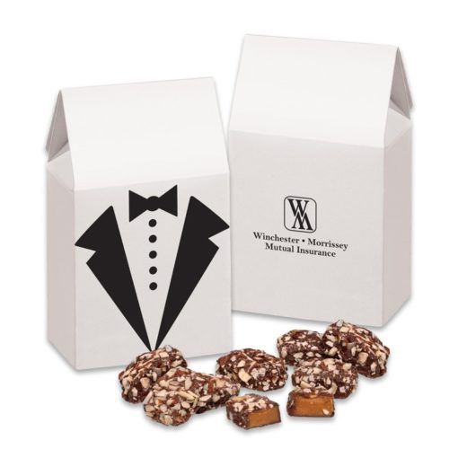 English Butter Toffee in Tuxedo Gift Box