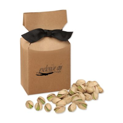Jumbo California Pistachios in Kraft Gift Box