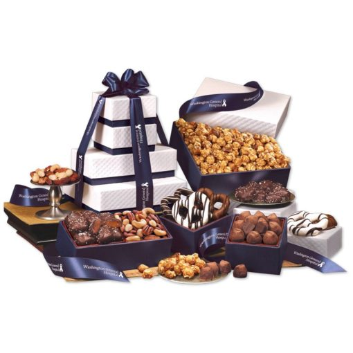 Park Avenue Tower of Chocolate in Navy