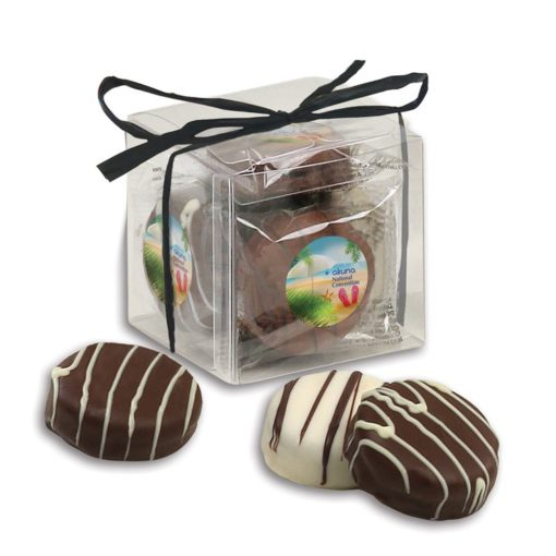 Stylish Acetate Cube with Chocolate Covered Oreos®