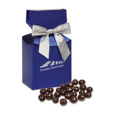 Barrel-Aged Bourbon Cordials in Metallic Blue Gift Box