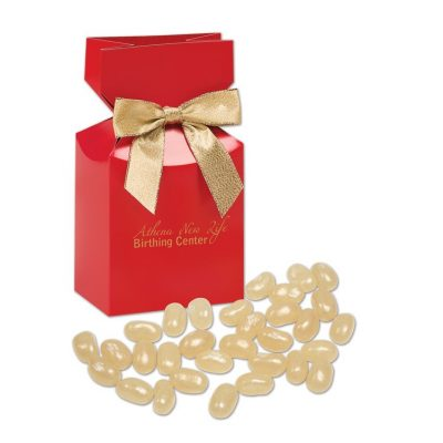 Champagne Jelly Belly® Jelly Beans in Red Gift Box