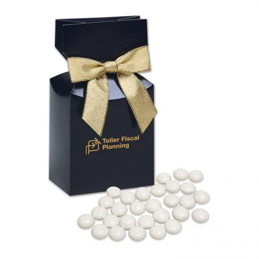 Chocolate Gourmet Mints in Navy Gift Box