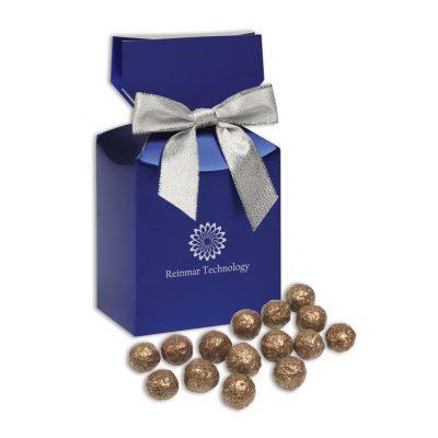 Prosecco Cordials in Metallic Blue Gift Box