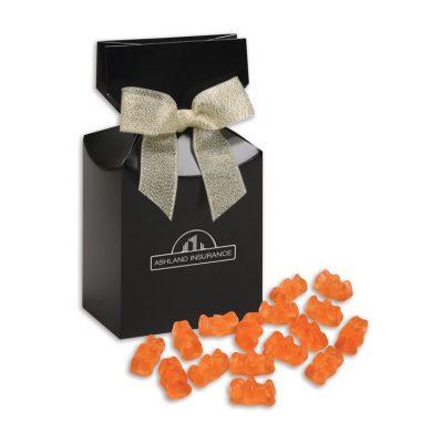 Prosecco Gummy Bears in Black Gift Box