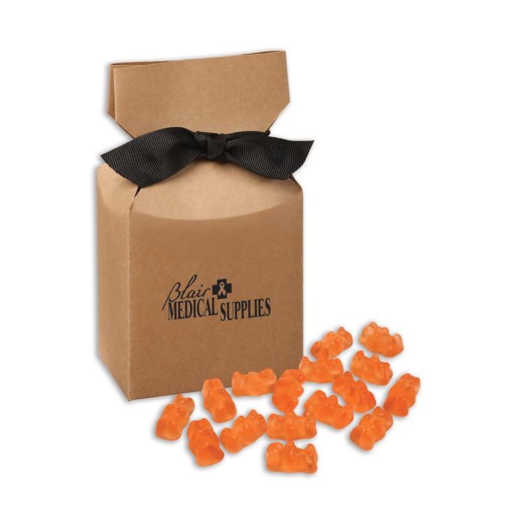 Prosecco Gummy Bears in Kraft Gift Box