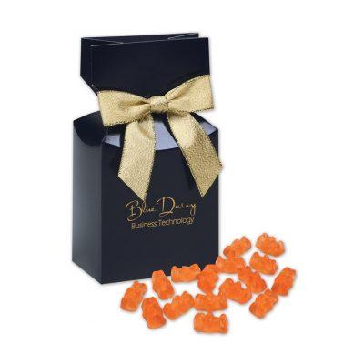 Prosecco Gummy Bears in Navy Gift Box
