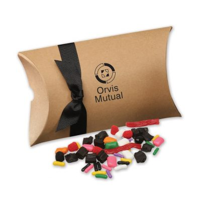 SAVE 65% - Licorice Lovers Mix in Kraft Pillow Pack Box