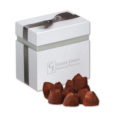 Cocoa Dusted Truffles in Elegant Treats Gift Box