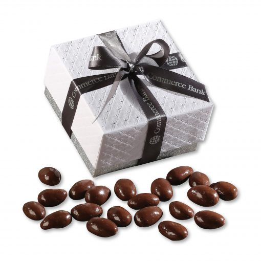 Milk Chocolate Almonds in Pillow Top Gift Box