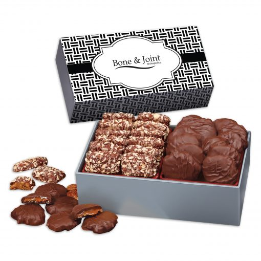 3 Day Express Service! Toffee & Turtles in Gift Box with Weave Sleeve