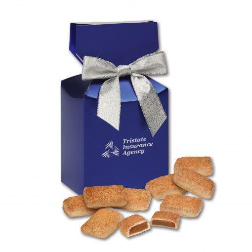 Cinnamon Churro Toffee in Blue Premium Delights Gift Box