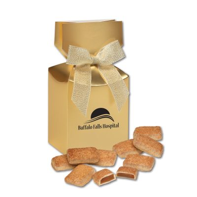 Cinnamon Churro Toffee in Gold Premium Delights Gift Box