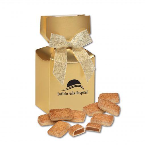 Cinnamon Churro Toffee in Gold Premium Delights Gift Box