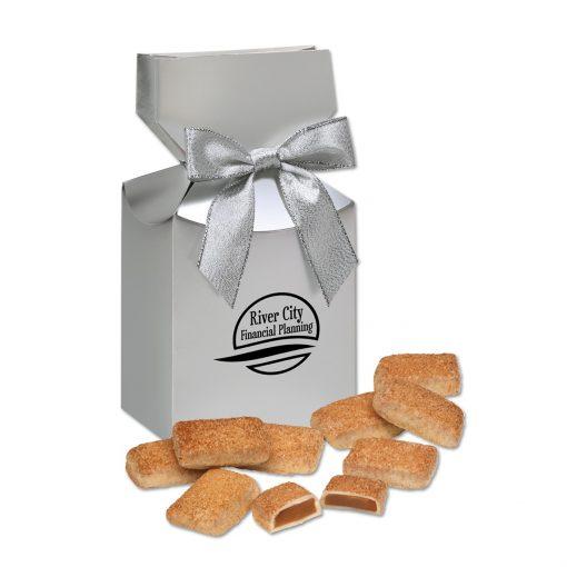 Cinnamon Churro Toffee in Silver Premium Delights Gift Box