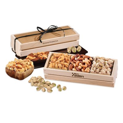 Crunchy Favorites in Wooden Crate
