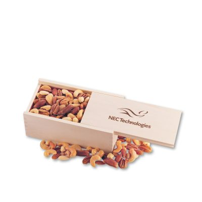 Deluxe Mixed Nuts in Wooden Collector's Box