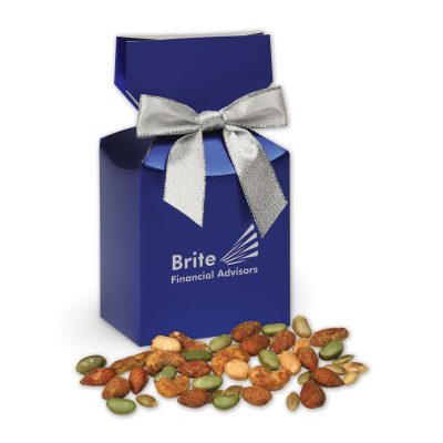 Honey Mustard Protein Mix in Blue Premium Delights Gift Box
