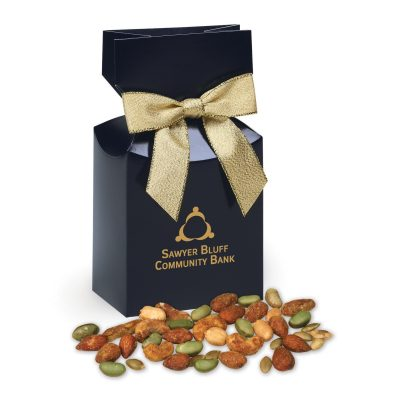 Honey Mustard Protein Mix in Navy Premium Delights Gift Box