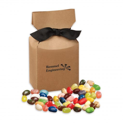 Jelly Belly® Jelly Beans in Kraft Premium Delights Gift Box