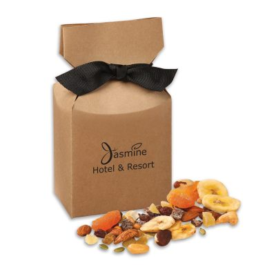 Western Trail Mix in Kraft Premium Delights Gift Box