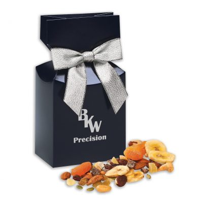 Western Trail Mix in Navy Premium Delights Gift Box