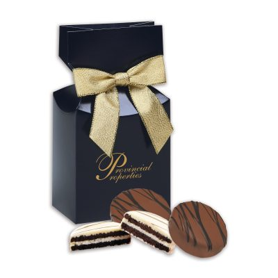 Chocolate Covered Oreo® Cookies in Navy Premiun Delights Gift Box
