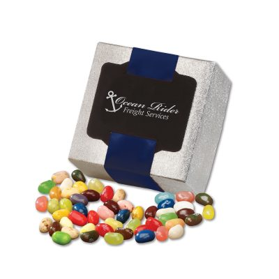 Jelly Belly® Jelly Beans in Silver Gift Box