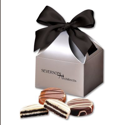 Chocolate Covered Oreo® Cookies in Silver Classic Treats Gift Box