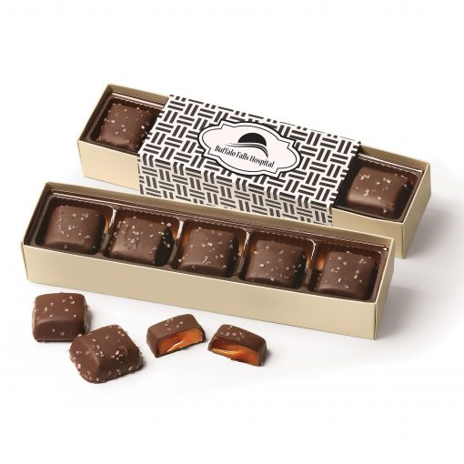 Chocolate Sea Salt Caramels Flight with Weave Wrap