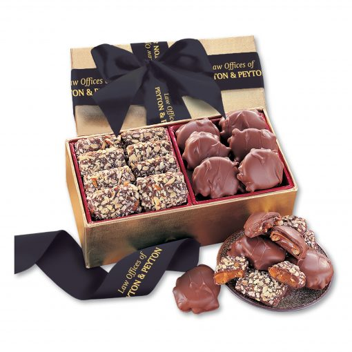 Toffee & Turtles in Gold Gift Box