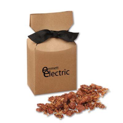Coconut Praline Pecans in Kraft Premium Delights Gift Box