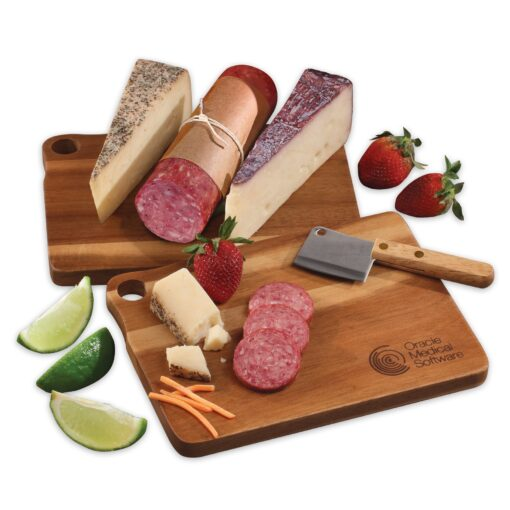 Gold Medal Cheeses with Acacia Charcuterie Serving Board