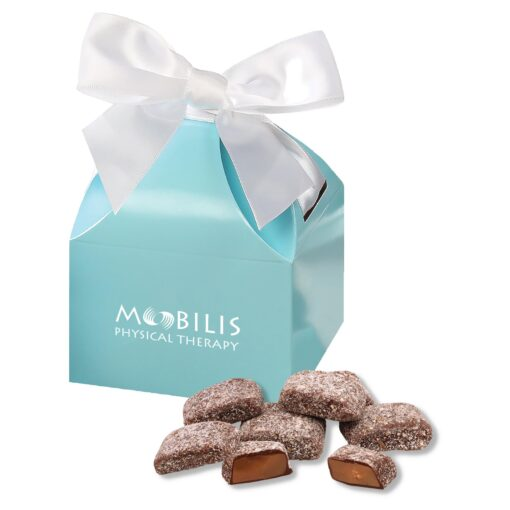 Butter Almond Toffee in Robin's Egg Blue Gift Box