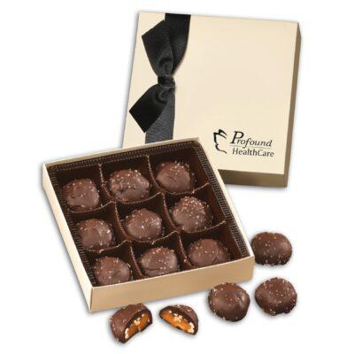 Chocolate Elegance with Sea Salt Almond Turtles
